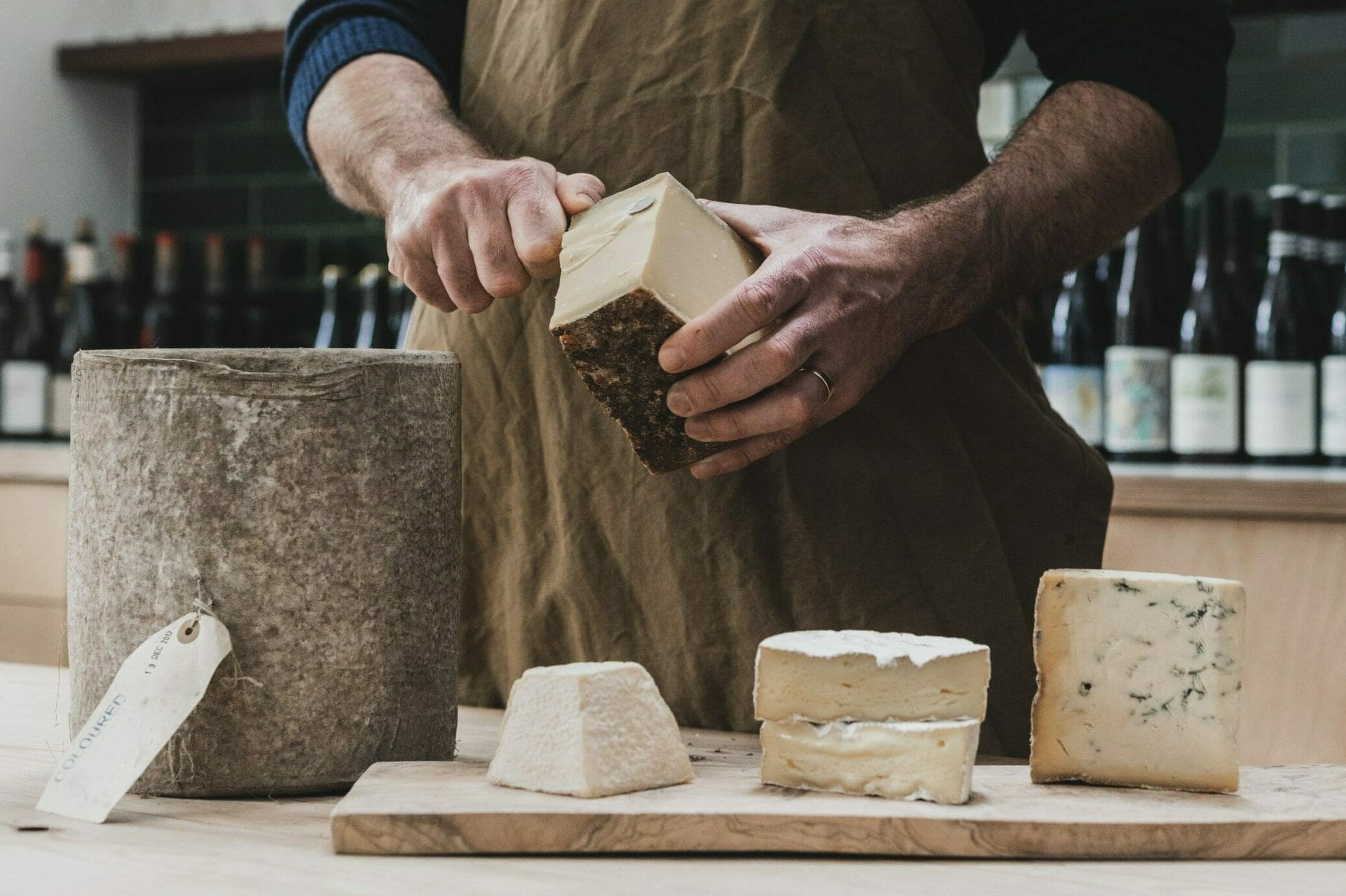 london cheesemongers pavilion road