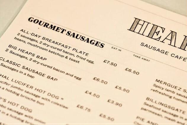 Heap's Sausage Café