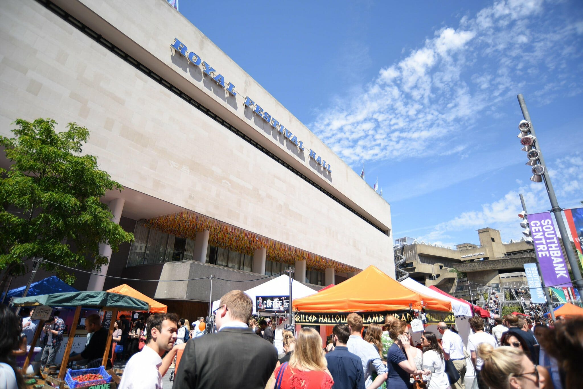southbank centre food market