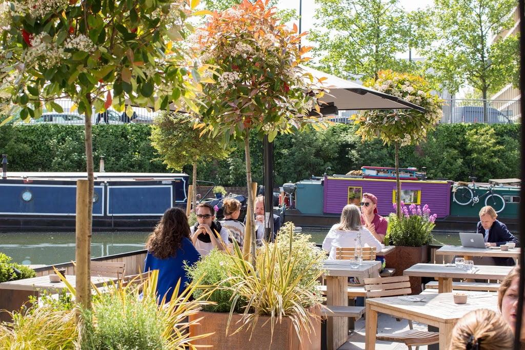 lighterman outdoor terrace london
