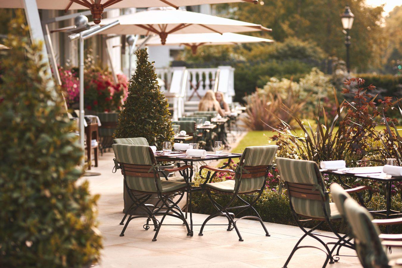 dinner heston terrace