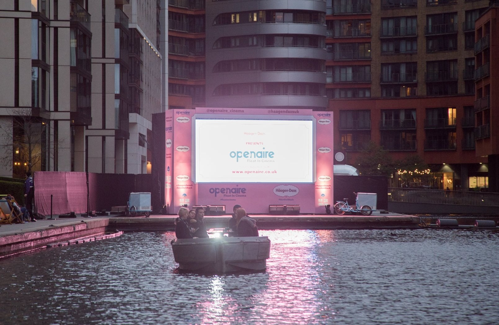 floating cinema london openaire