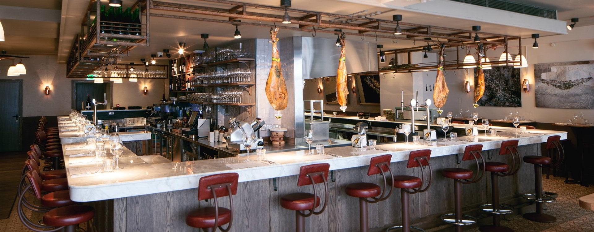 Morada Brindisa Asador Spanish Fare Roasted Over Charcoal Inside An Open Kitchen