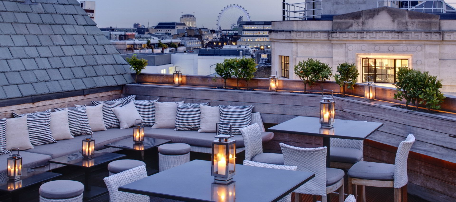 Soho Rooftop Restaurant London Aqua
