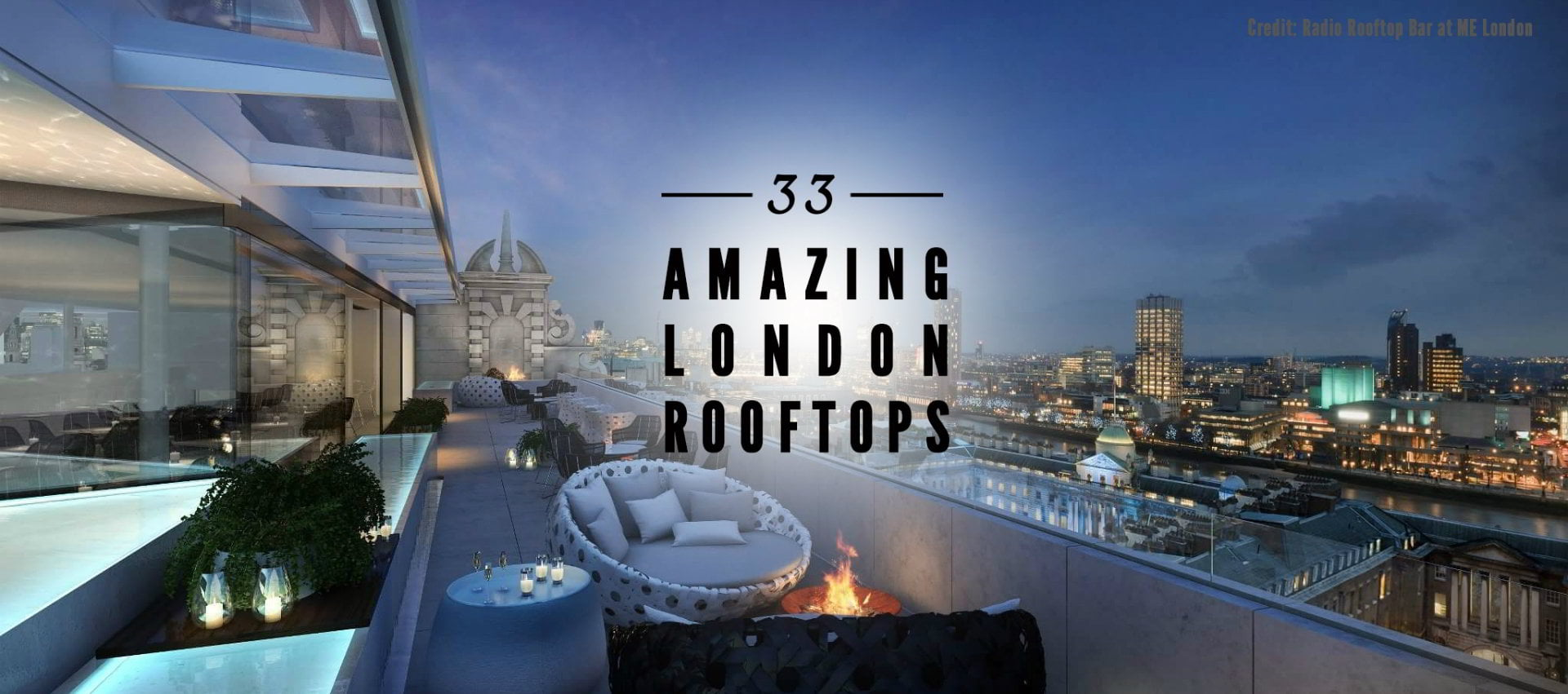 Best Rooftop Bars In London - London Bars Review