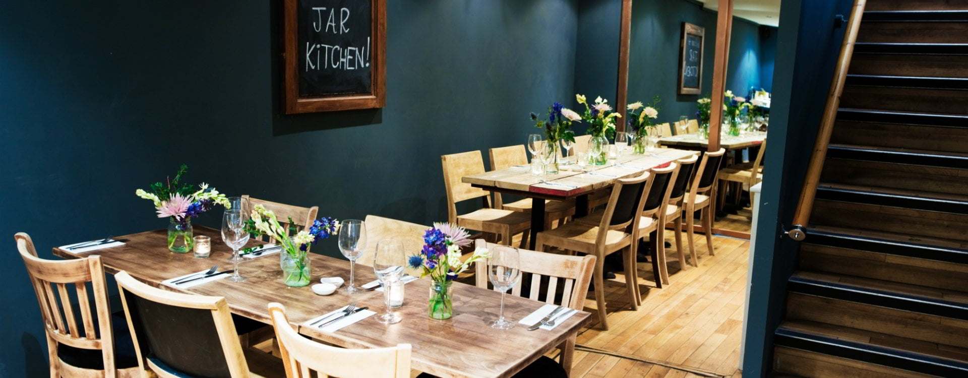 Jar kitchen a cozy modern european eatery in covent garden for Covent garden pool table