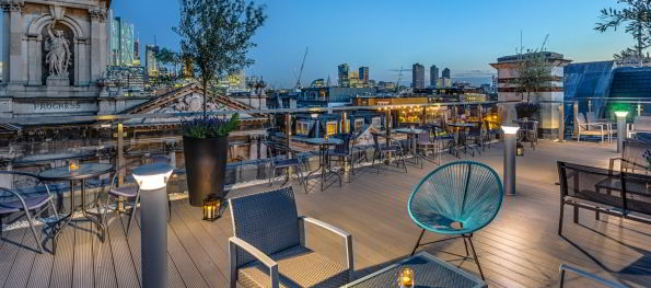 Shoreditch sky terrace a rooftop bar with expertly mixed for The terrace top date