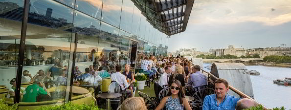 OXO Tower - Rooftop bars in London